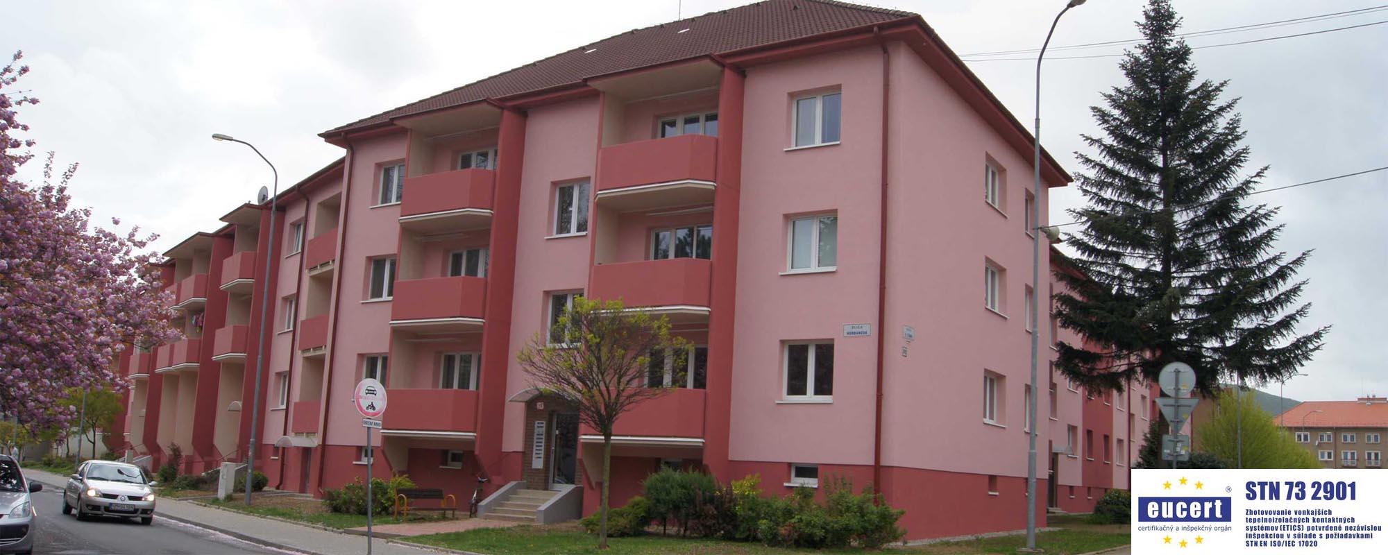 Ekonomservis, kompletná obnova bytových domov