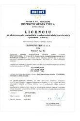 Ekonomservis, licencia